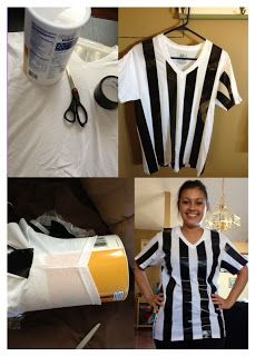 Hangin With the Cool Kids: DIY Referee Shirt for our Replay Series!