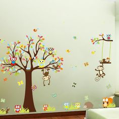 The nursery wall decals are so thin that it looks like it has been painted on the wall. which are from Easylife are so beautiful and high quality, people will be congratulating you on your amazing fin