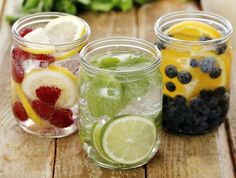 It's tough to meet your daily water intake requirements, but not when you use one of these tasty infusions.