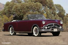 1953 Packard Caribbean  Maintenance/restoration of old/vintage vehicles: the material for new cogs/casters/gears/pads could be cast polyamide which I (Cast polyamide) can produce. My contact: tatjana.alic@windowslive.com