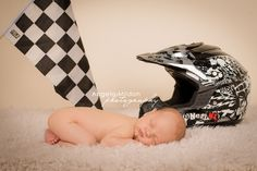 baby motocross photography | in las vegas photographer newborns tags baby with checkered flag baby ...