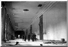 Russian officers in the Reichstag... 1945 Berlin