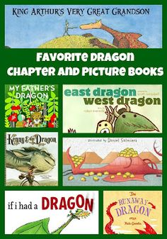 Amazing list of dragon books - kids will love these!