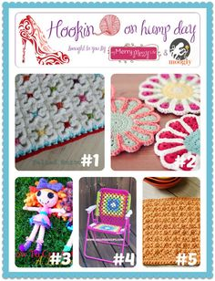 Hookin On Hump Day #52 - Link Party for the Fiber Arts! - moogly