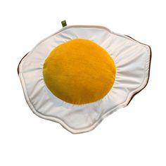 Fried Egg Pillow design inspiration on Fab.
