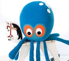 <3 Spotted at http://www.taninihome.com/it/catalog/product/view/id/1068/s/cuscino-octopus/category/20/ cuscino di design di Ferm living - the first luxury interior design online shop #kids #taninihome #shoponline #fermliving
