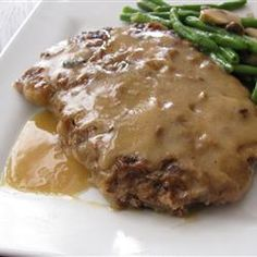 Country-Style Steak Recipe - Country-Style Steak Best Picture For zucchini recipes For Your Taste You are looking for somethin - Baked Cube Steak Recipe, Baked Cubed Steak, Baked Steak Recipes, Fried Cube Steaks, Minute Steak Recipes, Beef Cube Steak Recipes, Salisbury Steak Recipes, Chopped Steak Recipes, Swiss Steak Recipes