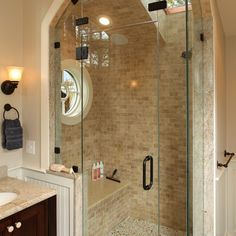 Bath Travertine Subway Tile Design, Pictures, Remodel, Decor and Ideas - page 3