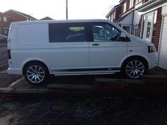 Side Vinyl - Let me see your van's decals please! - Page 9 - VW Forum - VW Forum Vw Transporter Van, Vw T5 Forum, Camper Ideas, Vw Camper, See You, Volkswagen, Decals, Vans, Trucks