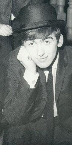 1963 - George Harrison.
