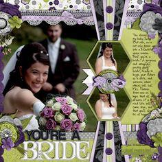 You're a Bride - Scrapbook.com