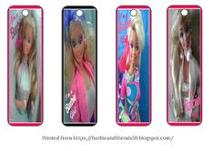Barbie Doll and Friends: A Collector from Down Under: FREE Printable Barbie Bookmarks