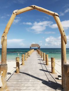 Just a platform in the Caribbean Sea. Cancun, Tulum, Caribbean Sea, Riviera Maya, Mexico, Platform, Beach, Water, Outdoor