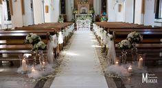 Dekoracja kościoła Wedding Props, Wedding Book, Dream Wedding, Wedding Isles, Church Wedding Decorations, Small Intimate Wedding, Kirchen, Inspiration, August 17