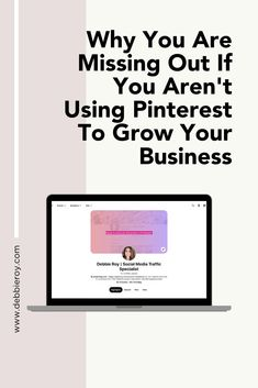 "Why You Are Missing Out If You Aren't Using Pinterest To Grow Your BusinessOne platform that many businesses often overlook is ""Pinterest."" Pinterest has immense potential for business, particularly in 2020. Here's why you need to include Pinterest in your social media marketing strategy. #pinterest #socialmedia #digitalmarketing Social Media Marketing, Digital Marketing, Welcome To The Group, Pinterest Pinterest, Pinterest For Business, Growing Your Business, Cover Photos, Platform"