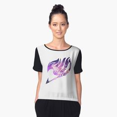 fairy tail sign Women's Chiffon Top #fairytail #fairy #natsu #lucy #gray #erza fairy tail sign fairytail fairy tail fairy tail sign natsu lucy erza gray happy gajeel jellal anime manga story designs creative create present perfect tees hoodies v neck stickers phone case fancy beautiful