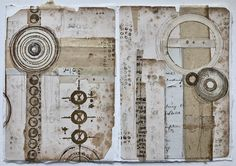 Welcome to the website of Seth Apter - NYC Mixed Media Artist, Author, Instructor and Designer. Journal Pages, Journal Art, Art Journals, Paper Collage Art, Occult Symbols, Altered Book Art, Contemporary Abstract Art, Handmade Books, Book Making