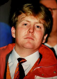 Crown Prince Willem Alexander of the Netherlands