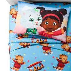 Daniel Tiger® Twin Sheet Set - Blue & Red