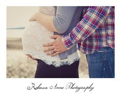Maternity photoshoot by Rebecca Anne Photography. dad's hand with wedding ring