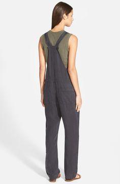 Linen Overalls,                         Alternate,                         color, Carbon