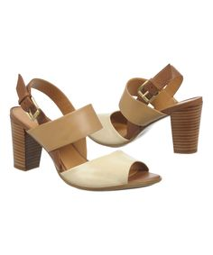 70128c1777bfa Love this Ivory Dahnny Leather Sandal by Naturalizer on #zulily!  #zulilyfinds Naturalizer Shoes