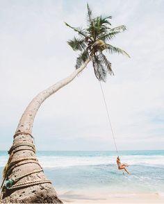 Swinging in Sri Lanka  Photo by @gypsea_lust by luxuryism