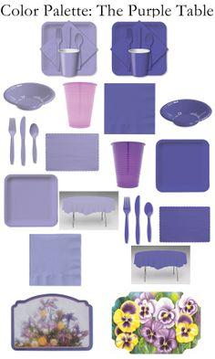 Wholesale Purple Tableware -- Radiant Orchid