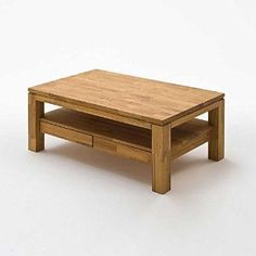 Gordon Dark Oak Rectangle Coffee Table With 2 Drawers