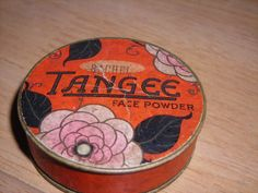 Empty Tangee face powder box in Rachel shade by by TheNineOfCups, $13.99