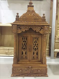30 best ideas for decor wood boxes wooden crates Rustic Powder Room, Mandir Design, Pooja Room Door Design, Cheap Wall Art, Living Room Light Fixtures, Decor Home Living Room, Temple Design, Puja Room, Wooden Crates