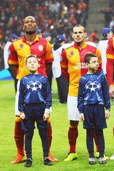 Drogba & Sneijder ♥