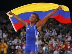 Jackeline Rentería  repite bronce en lucha y le da la sexta medalla a Colombia en Londres 2012.