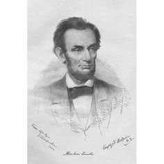 Found it at Wayfair - 'President Abraham Lincoln' by Frank Leslie Painting Print