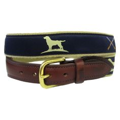 """The Essentials"" Ribbon Belt - Navy"
