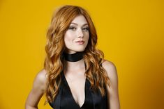 Katherine McNamara for NYCC 2017: Stars Stop By Our Exclusive HollywoodLife Portrait Studio