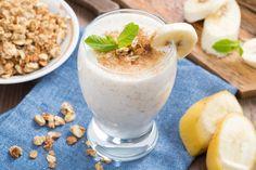 bananas & milk smoothie
