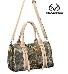 #New Realtree Xtra Camo Concealed Carry Handbag w/ Tassel  #Realtreegirl #Realtreecamo