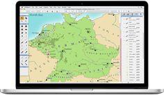 Ortelius 2 on an MacBook Pro | Mapdiva.com