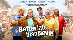 See How The Cast Of Better Late Than Never Used To Look Like And How They Look…