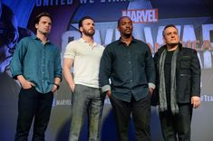 Photo Call for Captain America in Singapore