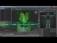 Tutorial Animar personaje utilizando BVH en Motion Builder - YouTube