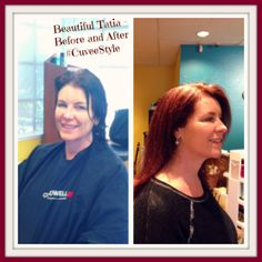 Client transformations are our specialty. #CuveeStyle produces spectacular results. You are beautiful Tatia!