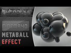 TUTORIAL METABALL CINEMA 4D | Liquid, fluid effect - YouTube
