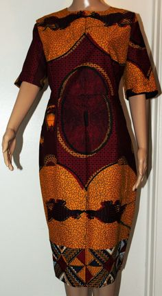 Adensecret Fade African print Ankara Dress /Brown/burgundy  #adensecret #photography #bloggertrends #webuyblack #africanprints #fashiondiaries #fashion #africanfashiondesigners #ootn #melaninonfleek