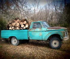 Old Fords never die…they get restored Farm Trucks, Ford Pickup Trucks, Ford 4x4, Cool Trucks, Chevy Trucks, Old Fords, Vintage Trucks, Classic Trucks, Semi Trucks