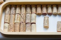 DIY - How to Make Modern Wine Cork Tray - Home Clean Experts