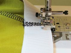 How to sew elastic into a waistband - sewing tutorial