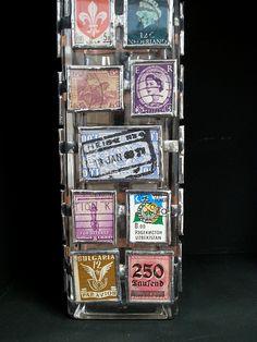 Stamp Bottle (long) | Flickr - Photo Sharing! www.carlymann.co.uk