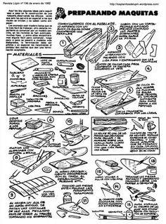 Planitos de Lupin. Preparando maquetas